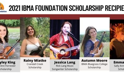 IBMA Foundation announces five college scholarship recipients for fall 2021 semester