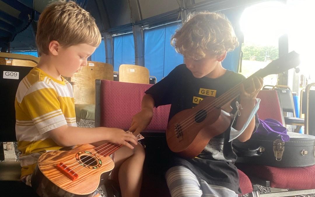 Project grant spotlight: Lake Superior Big Top Chautauqua Bluegrass Day Camp for Kids