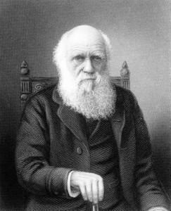 Charles Darwin op latere leeftijd.