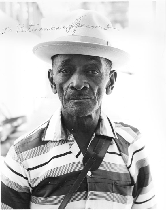 Mance Lipscomb, from Navasota Texas, 1964.