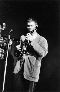 Peter Feldmann, with Harmony mandolin, 1962.