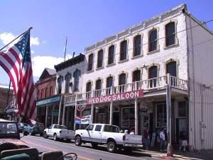 Red Dog Saloon. Virginia City, NV.