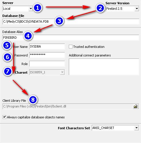 ibexpert_connexion_gyndata