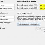 Word : Paramétrer Outlook pour qu'il envoie directement des documents par GMAIL.