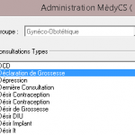 MedyCS: Synchroniser Gynélog 4 et MedyCS 7