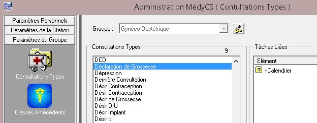 MDX: Question - Lier une Consultation et un Questionnaire