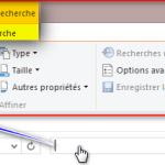 Windows Search : Moteur de recherche intégré de Windows