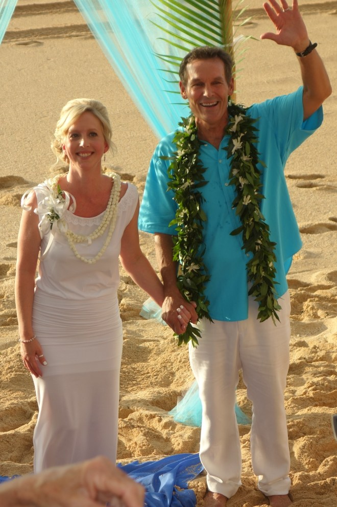 Mark and Dawn tie the knot!