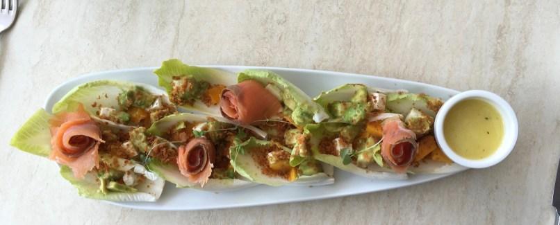 Salmon Avocado Endive Salad