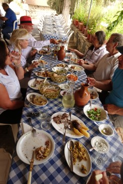 Lunch in Cyprus