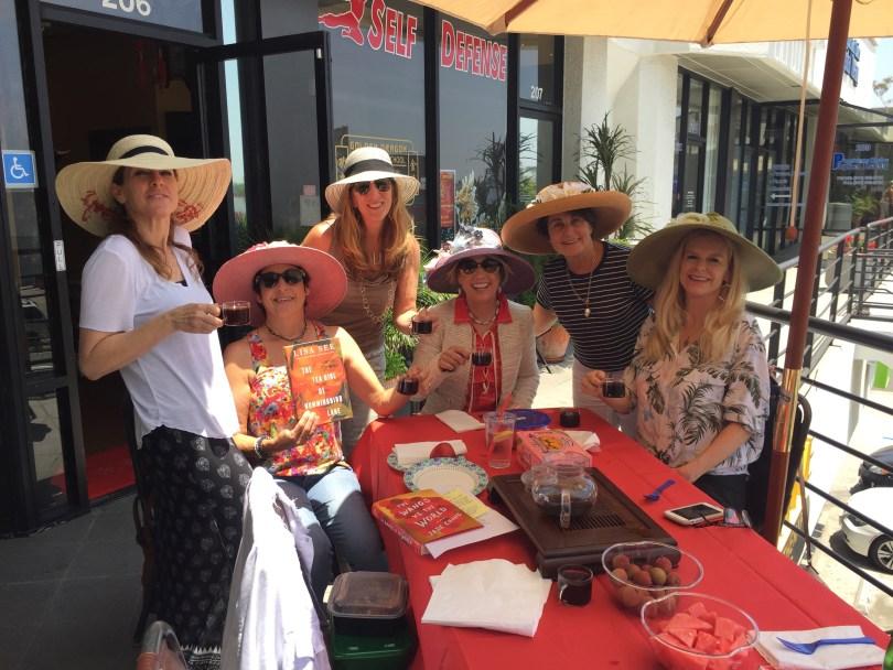 Book club at Golden Dragon Tea Room Santa Monica