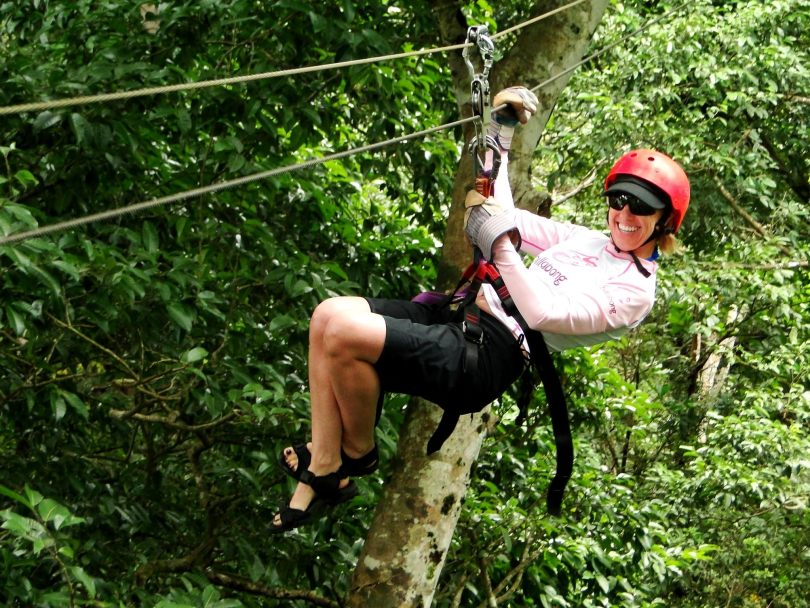 Zipline at Witches Rock, Costa Rica