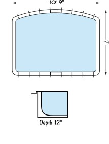 Tanning Ledge - Specification Blue Hawaiian Pools of Michigan img
