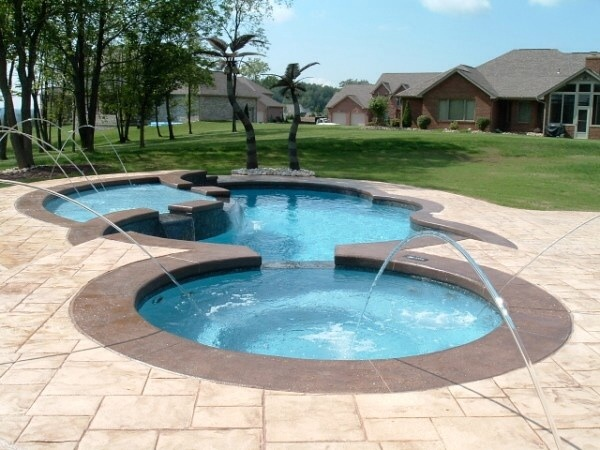 in ground swimming pool builder Michigan Clarston, Milford, Fenton, Oxford, Lansing, Shelby Mi. inground Swimming pool Installation Clarkston Michigan Swimming Pool Sale www.bluehawaiianpoolsofmichigan.com 15 -018