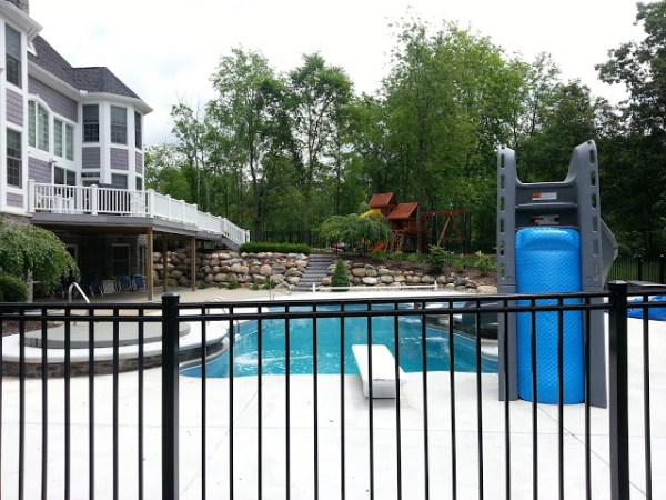 in ground swimming pool builder Michigan Clarston, Milford, Fenton, Oxford, Lansing, Shelby Mi. inground Swimming pool Installation Clarkston Michigan Swimming Pool Sale www.bluehawaiianpoolsofmichigan.com 13-5