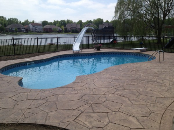 in ground swimming pool builder Michigan Clarston, Milford, Fenton, Oxford, Lansing, Shelby Mi. inground Swimming pool Installation Clarkston Michigan Swimming Pool Sale www.bluehawaiianpoolsofmichigan.com 14 - 142