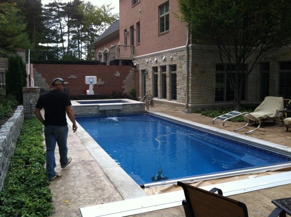 in ground swimming pool builder Michigan Clarston, Milford, Fenton, Oxford, Lansing, Shelby Mi. inground Swimming pool Installation Clarkston Michigan Swimming Pool Sale www.bluehawaiianpoolsofmichigan.com 13 - 1160