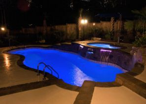Fiberglass swimming pool sale