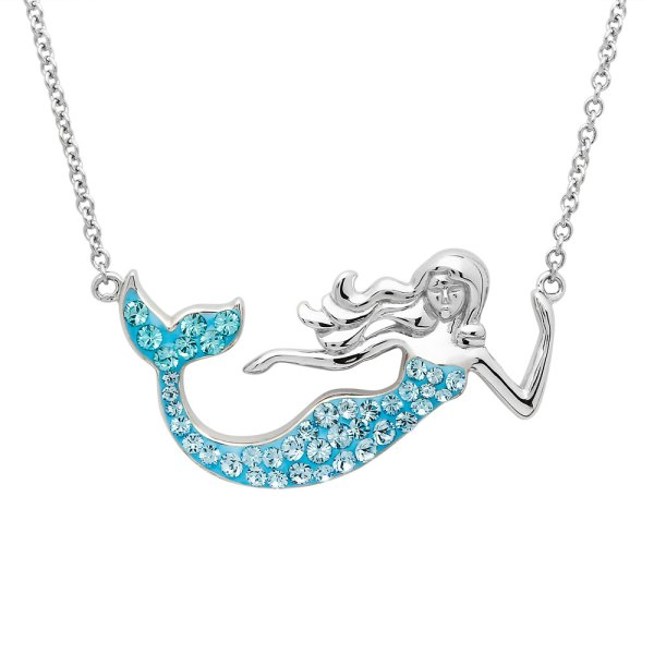 Aqua Mermaid Necklace