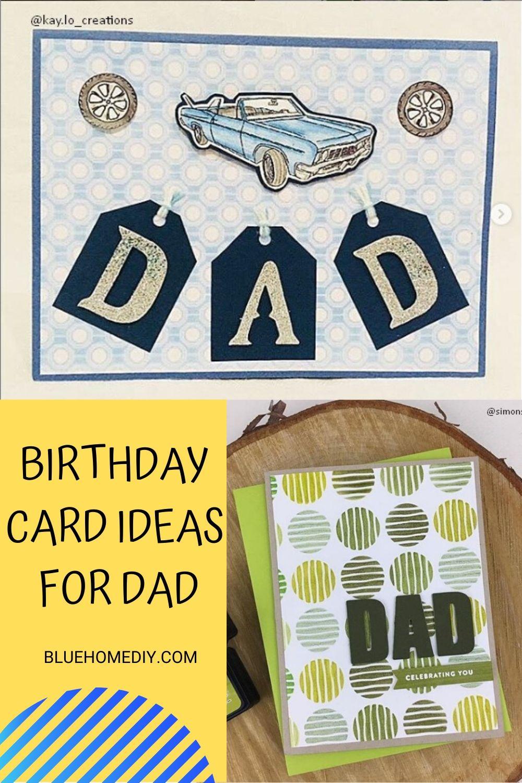 20 Birthday Card Ideas For Friend Boyfriend Creative Handmade Dad