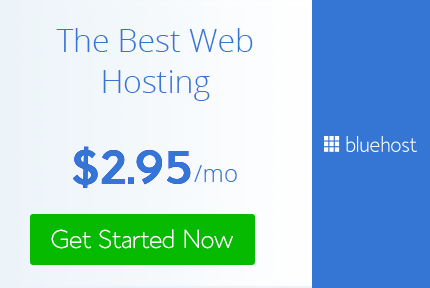 bluehost the best hosting service