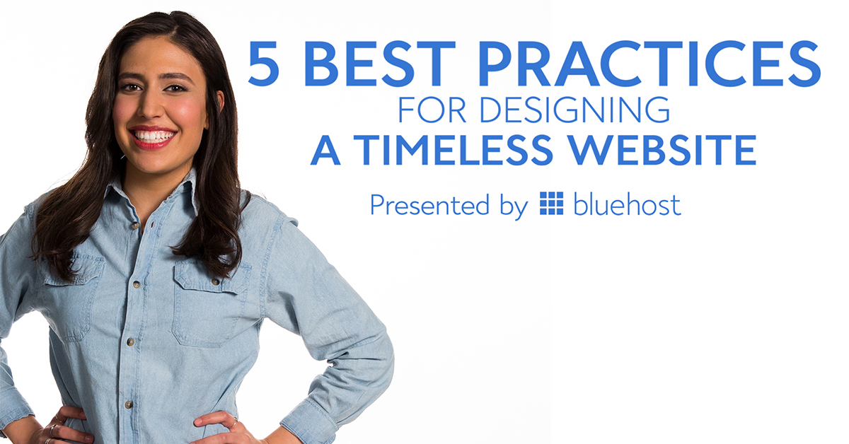 best practices for designing a timeless website