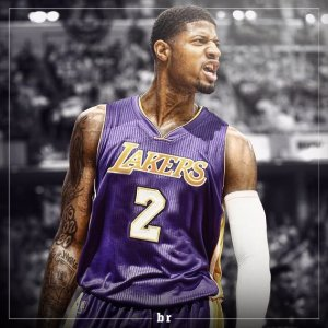 Paul George Lakers