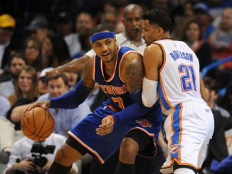 Carmelo Anthony Traded to Thunder