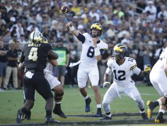 Michigan Tops Purdue on Homecoming