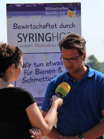 Interview beim Projektpartner Syringhof