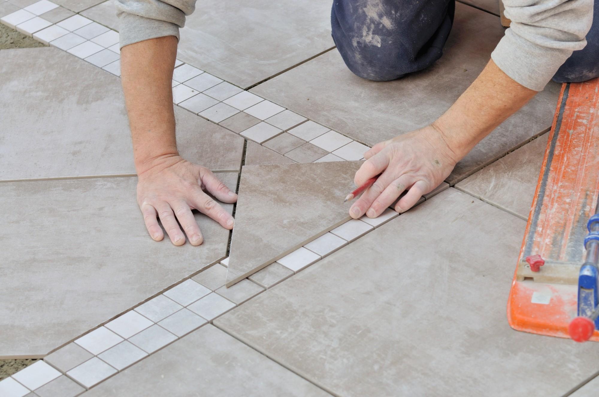 how do you keep porcelain tiles shiny