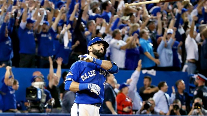 VINES: Jose Bautista's Bat Flip Set to Various