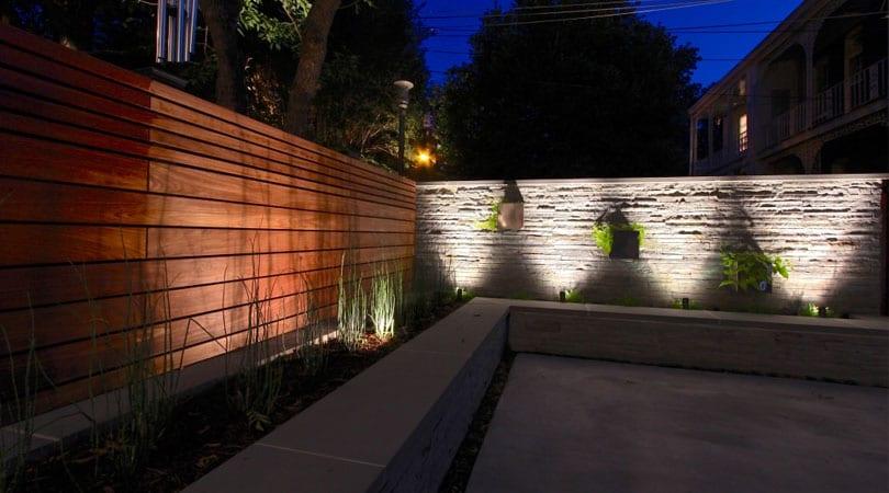 save money with led landscape lighting