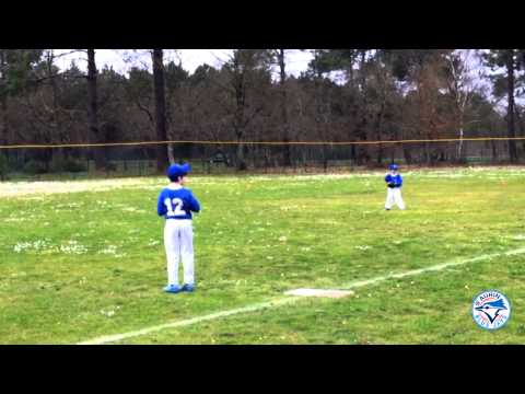 Journée 9U au Bluejays Ballpark de St Aubin de médoc