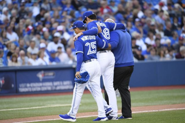 Mighty Yankees fall to Grichuk, Blue Jays in penultimate meeting