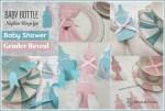 Baby Bottle Napkin Rings