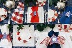 Patriotic Table Settings