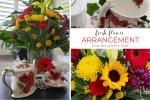 Fresh Flower Arrangements at Home