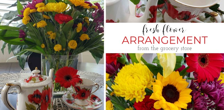 Fresh Flower Arrangements at Home