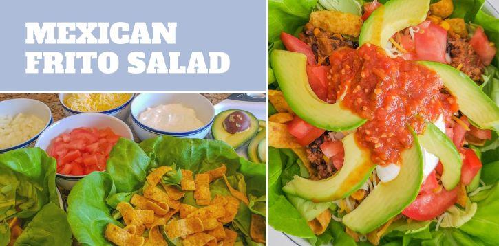 Mexican Frito Salad for Cinco de Mayo