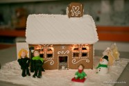 Chanel Gingerbread house