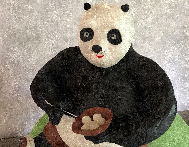 Tarta Kung Fu Panda