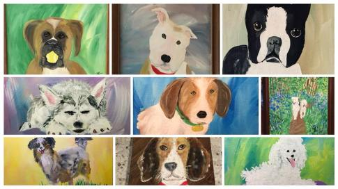 Few Doggy Paintings