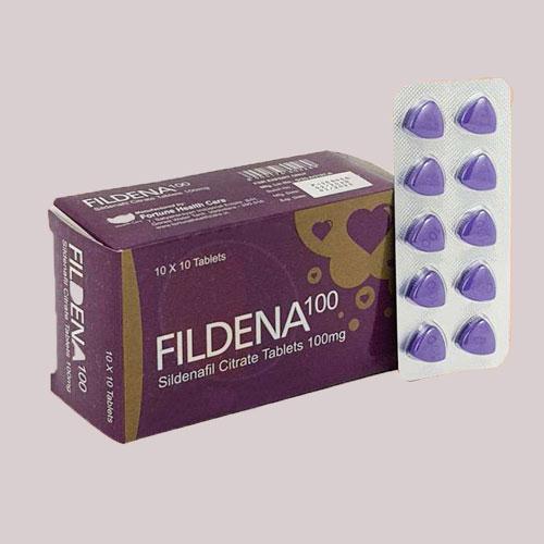Fildena 100 mg pills