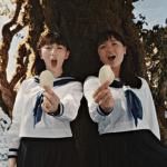 湖池屋(コイケヤ)CMハモる女子高生は誰?木の上で歌う女の子が気になる!