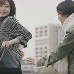ベルーナ(裏ファーワンピース)CM女優は誰?2人の女性が美人!