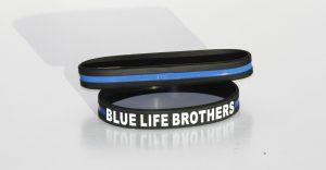 PULSERAS LINEA AZUL Blue Life Brothers