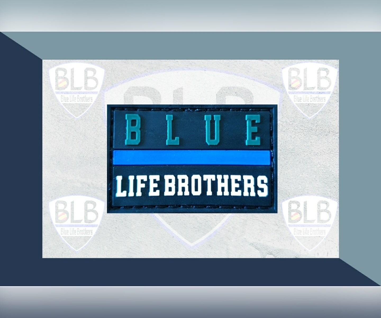 Parche Blue GC de PVC Blue Life Brothers