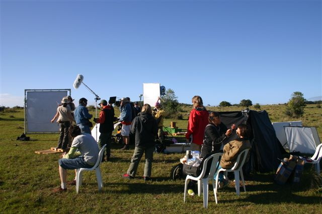 Commercial shoot in Uruguay, South America