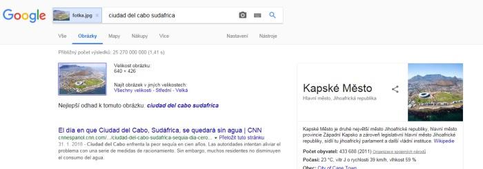 google kapské město